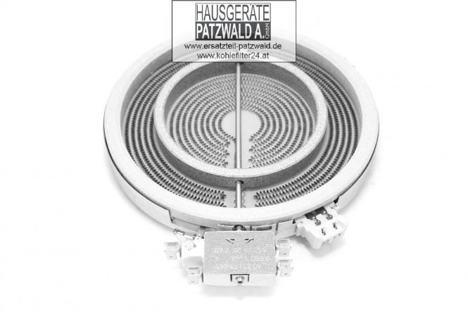 Strahlheizkörper, Kochzone, 1058213032,180/120 mm,Energieregler