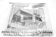 Fettfilter 47 x 57cm 2 Stück für Abzugshauben